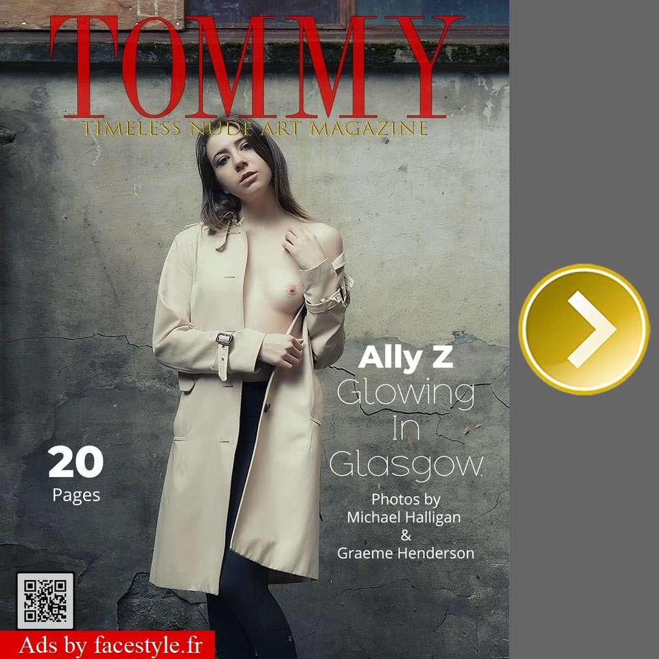 Tommy Magazine - Ally Zlatar - Glowing In Glasgow