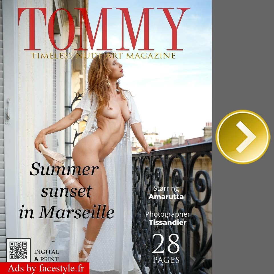 Tommy Magazine - Amarutta - Summer sunset in Marseille