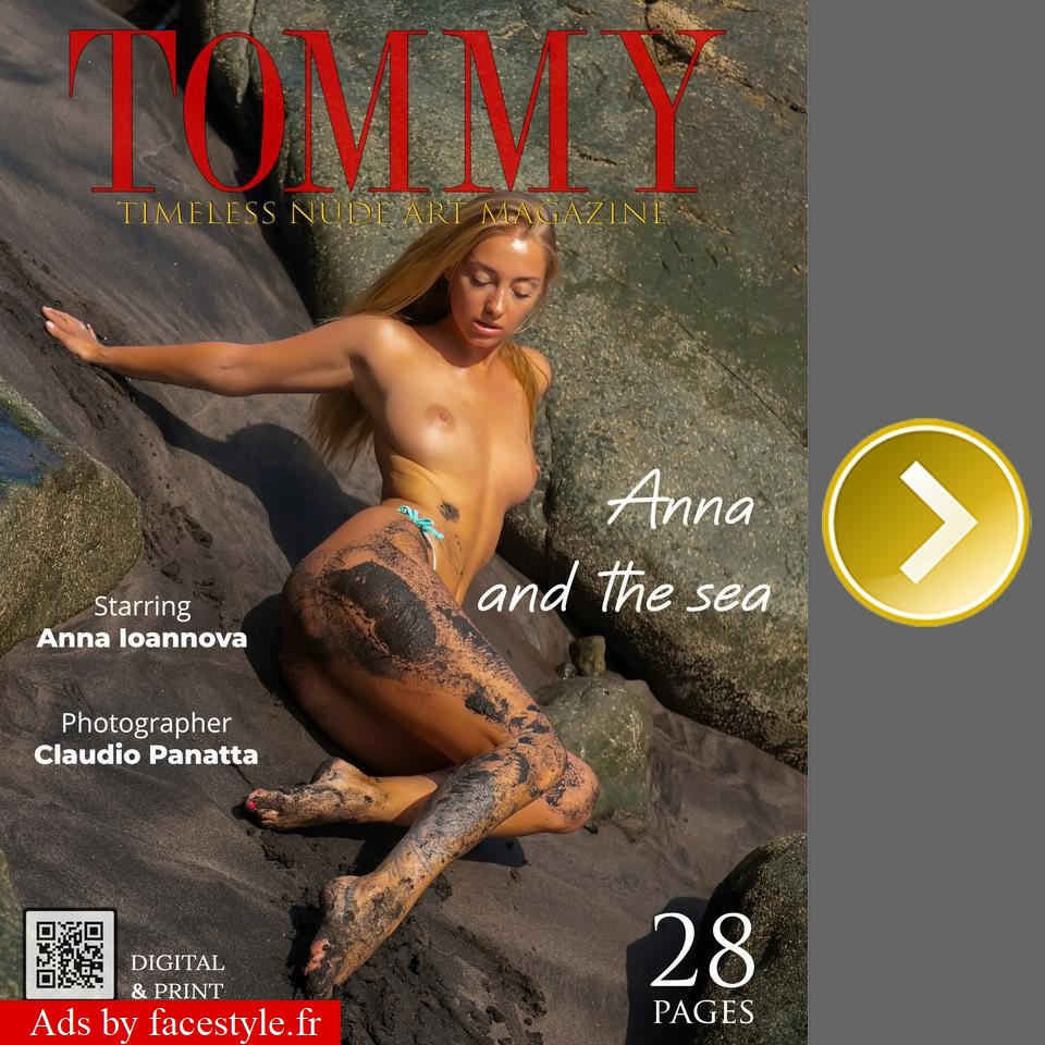 Tommy Magazine - Anna Ioannova - Anna and the sea