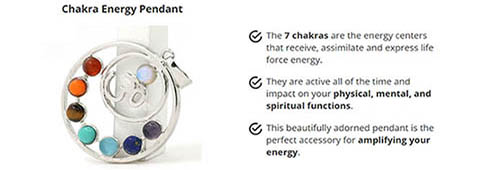 Give Away This Beautifully Adorned Chakra Healing Pendant