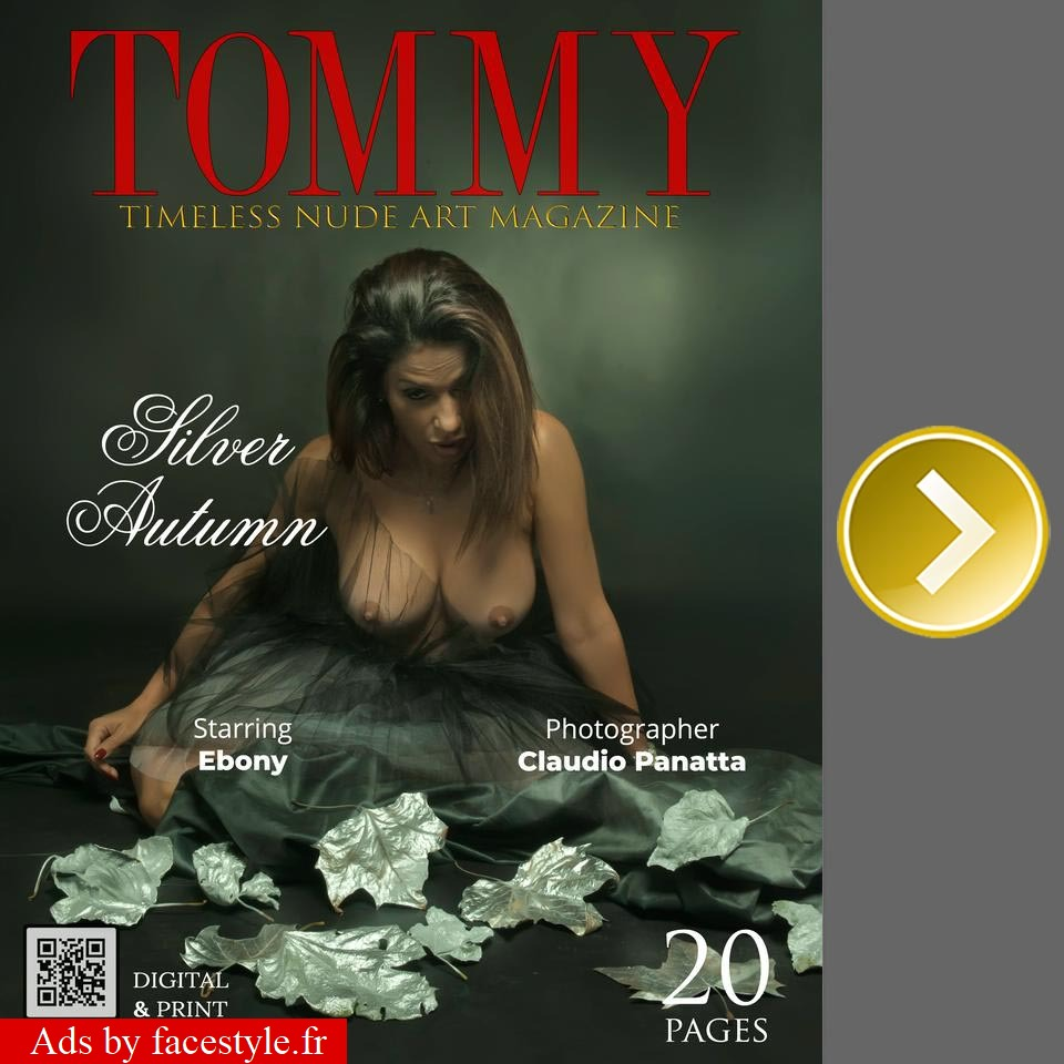 Tommy Magazine - Ebony - Silver Autumn