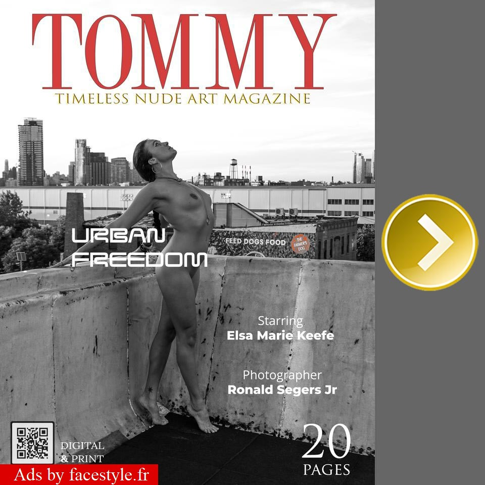 Tommy Magazine - Elsa Marie Keefe - Urban Freedom