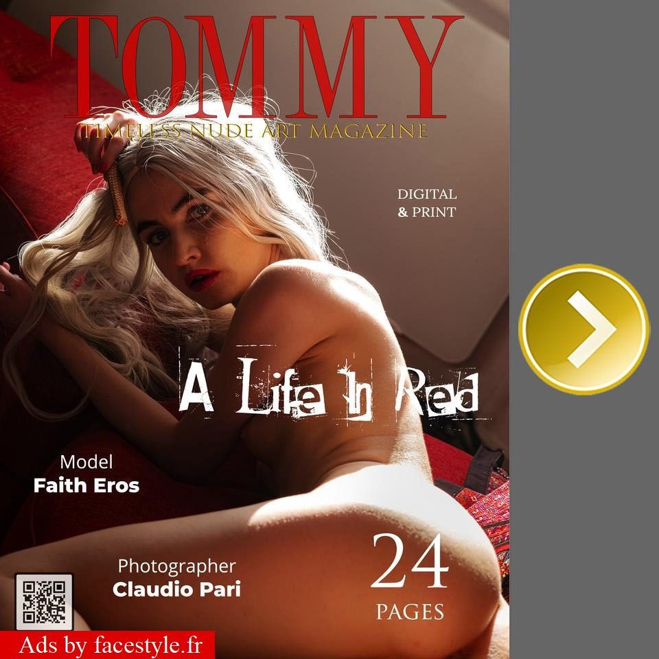 Tommy Magazine - Faith Eros - A Life In Red