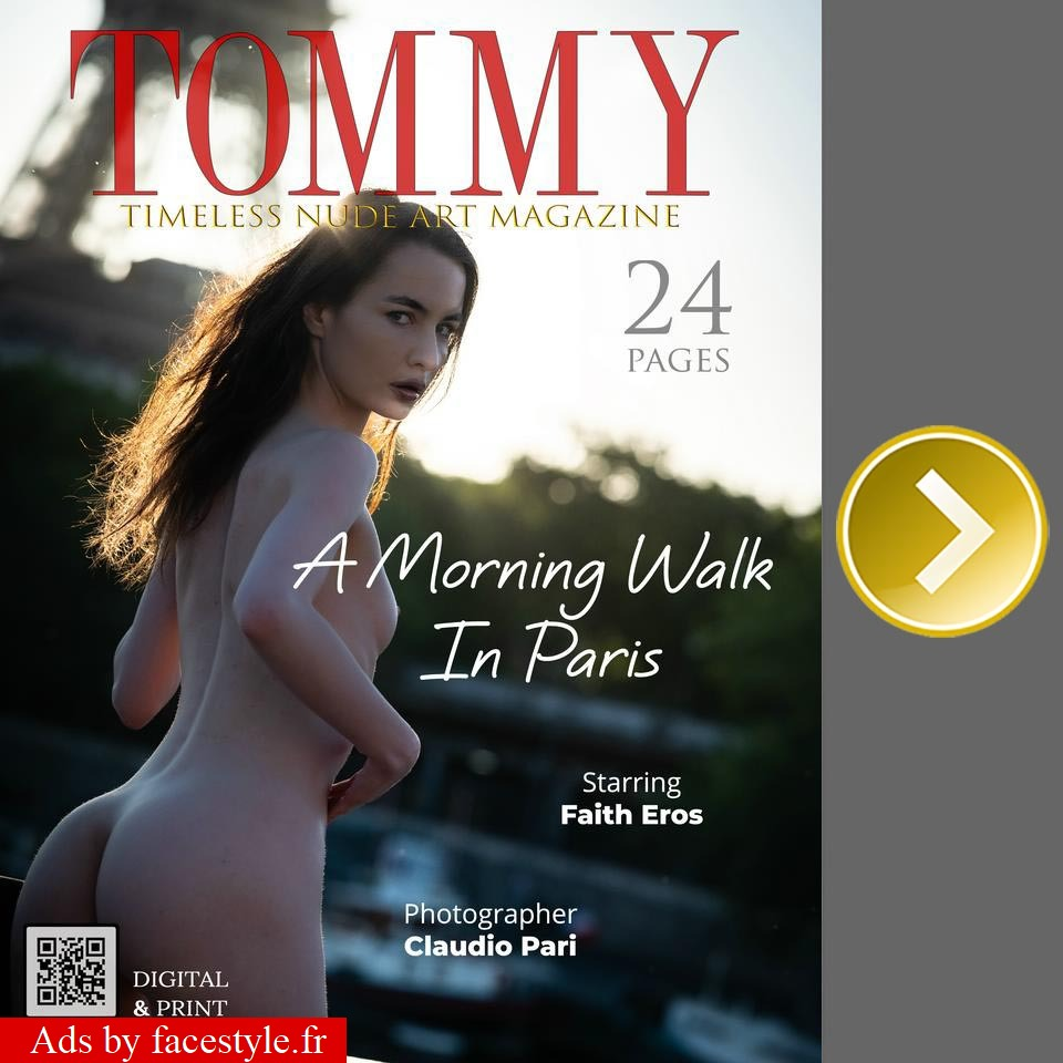Tommy Magazine - Faith Eros - A Morning Walk In Paris
