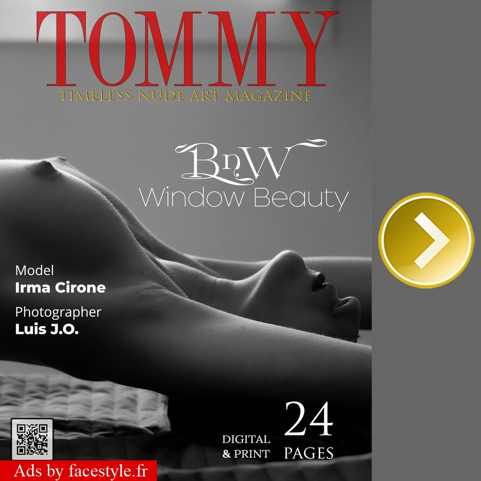 Tommy Magazine - Irma Cirone - BnW Window Beauty
