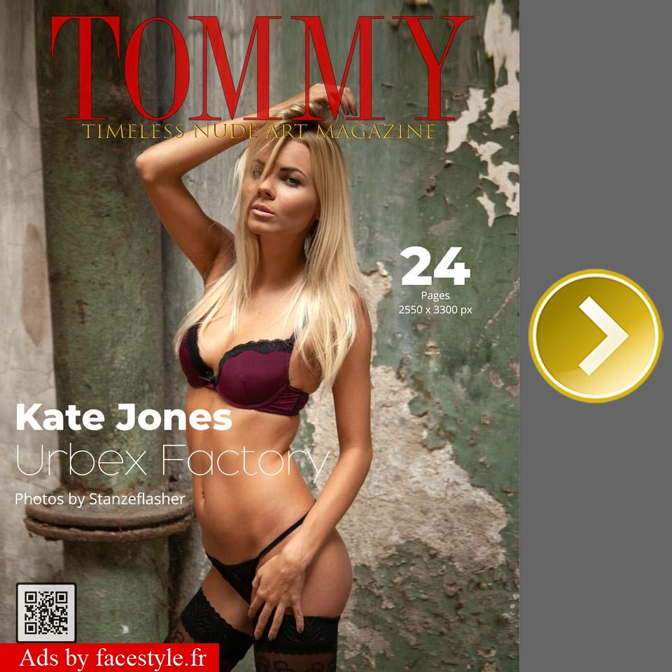 Tommy Magazine - Kate Jones - Urbex Factory