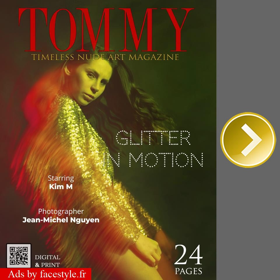 Tommy Magazine - Kim M - Glitter in motion