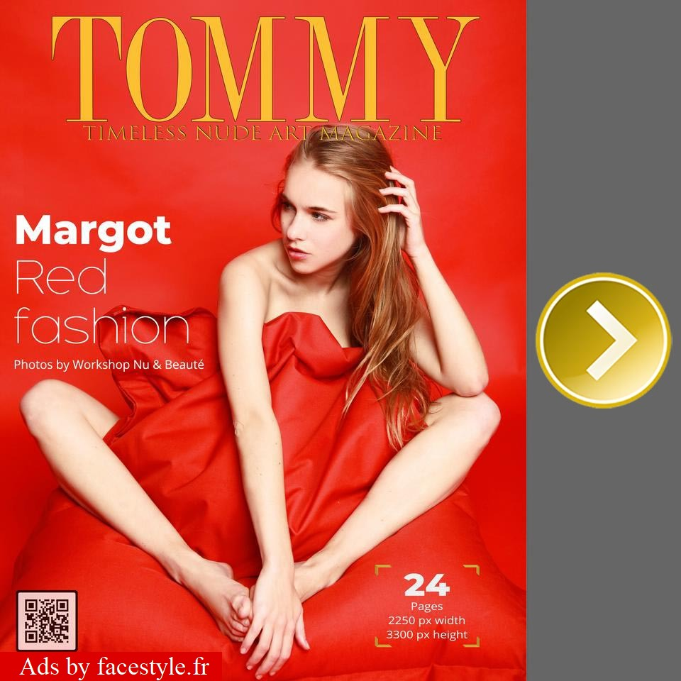Tommy Magazine - Margot - Red Fashion