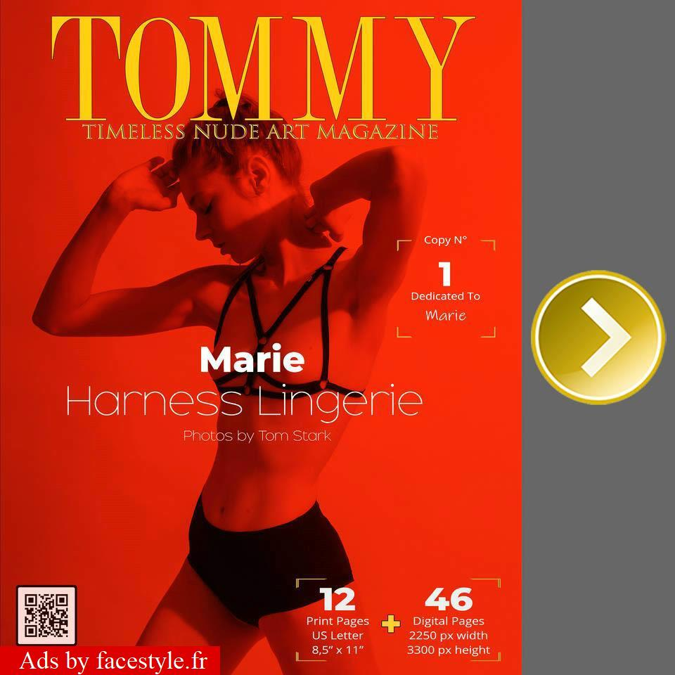 Tommy Magazine - Marie - Harness Lingere