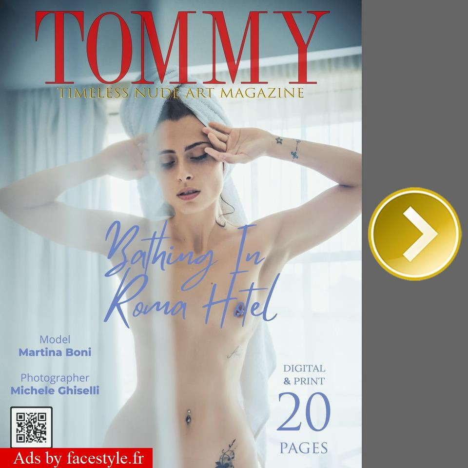 Tommy Magazine - Martina Boni - Bathing In Roma Hotel