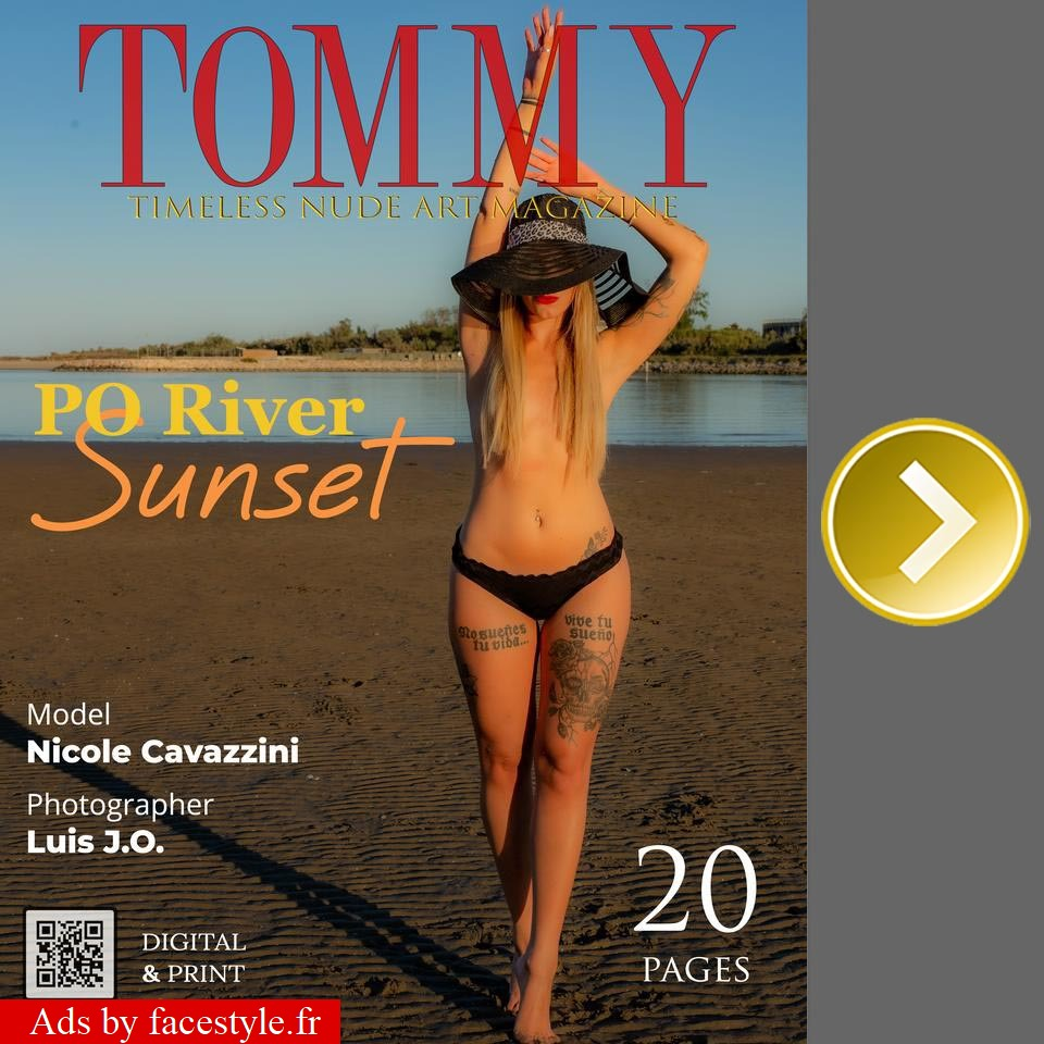 Tommy Magazine - Nicole Cavazzini - Po River Sunset