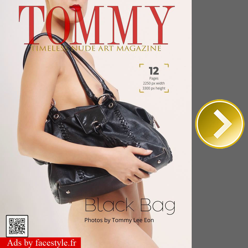 Tommy Magazine - Black Bag