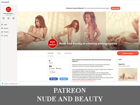 patreon nude and beauty