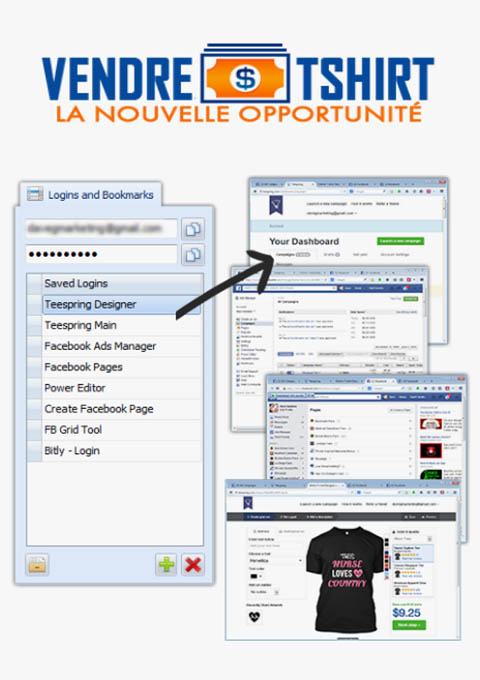 Vendre des t-shirts La nouvelle opportunite business