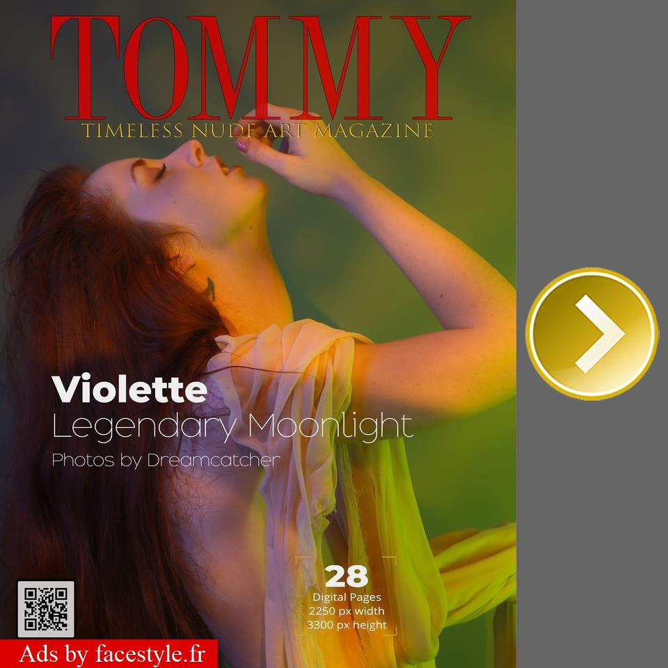 Tommy Magazine - Violette - Legendary Moonlight