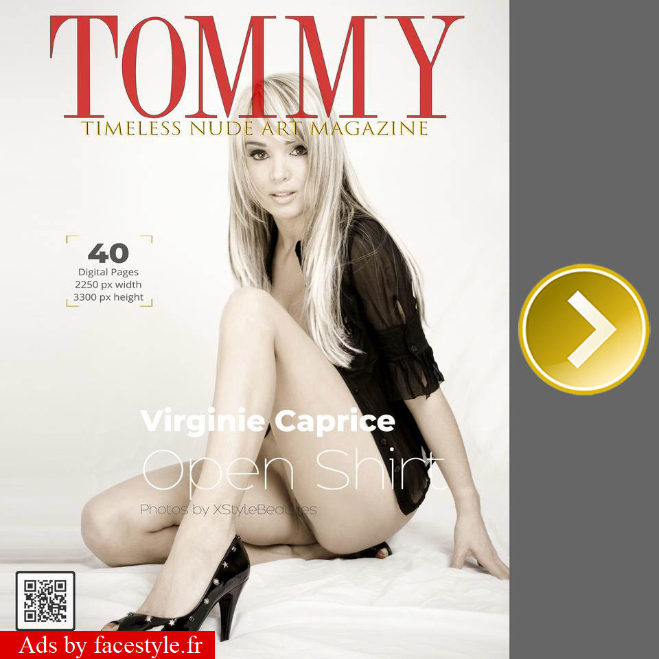 Tommy Magazine - Virginie Caprice - Open Shirt